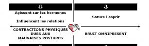 Les perturbateurs de l'intelligence du coeur